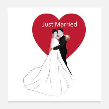 Marry just married - Poster 24x24