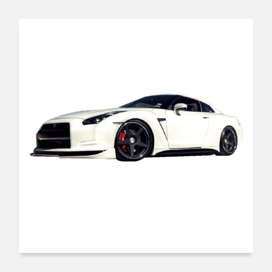 Car Posters - DATE CAR GUY - Posters white