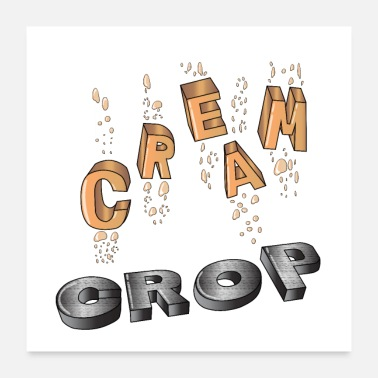 Master Cream of the Crop - Poster 24x24