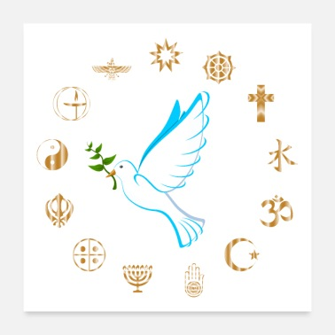 Religion Religions for Peace - Poster