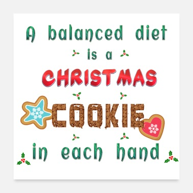 Diet Christmas Diet - Poster