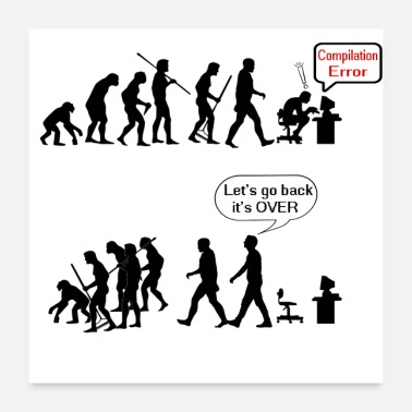 Programming human evolution as a geek - Poster