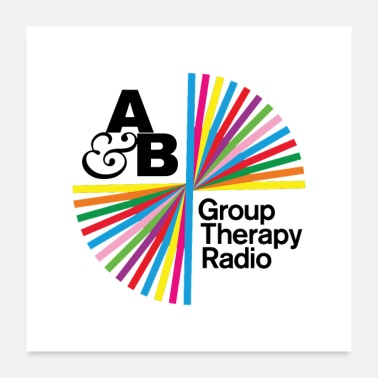 Group group therapy - Poster