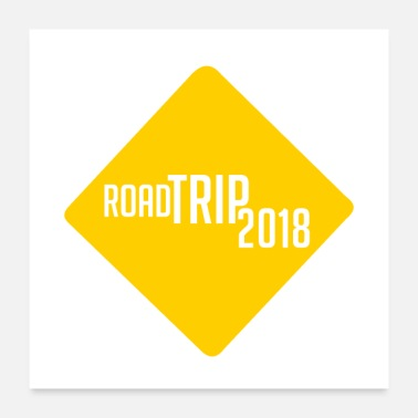 Vacation road trip 2018 t shirt family vacation t shirts - Poster 24x24