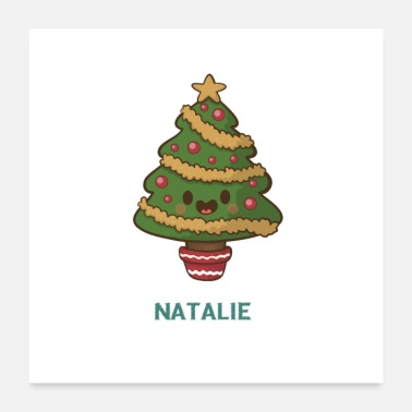 Characters NATALIE Christmas character - Poster