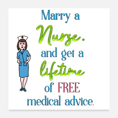 Marry Marry a nurse - Poster