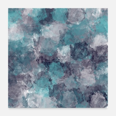 Patterned Impressionistic Pattern - Poster