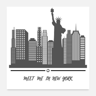 Meeting New York - Poster 24x24