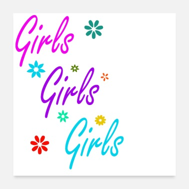Girl Girls Girls - Poster