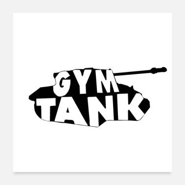 Exercise Gym Tank gym exercise - Poster 24x24