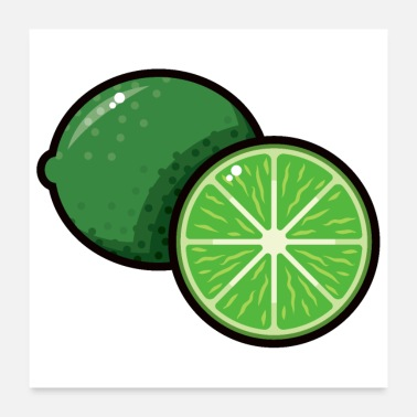 Sour Limes - Poster