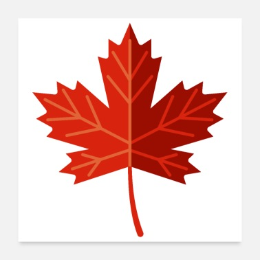 Leaf Canadian Maple Leaf - Poster