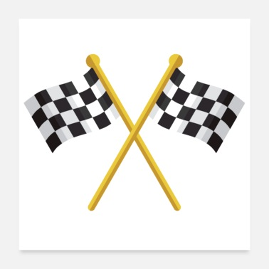 Racing Flags Racing Flags - Poster