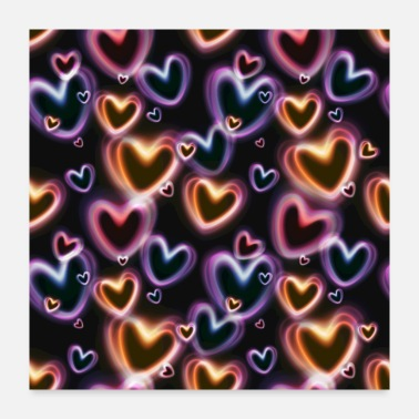 Celebrate love bubbles - Poster 24x24