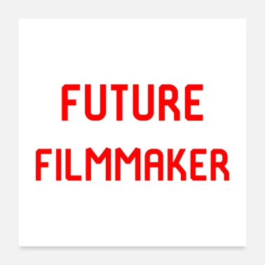 Cinema Future Filmmaker Film School Design - Poster