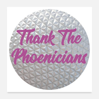 Thankful Thank The Phoenicians - Poster