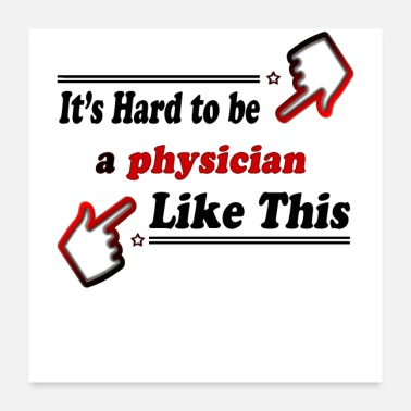 Physiotherapy Best physician ever - Poster