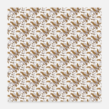 Coffee Coffee coffee drinker coffee lover pattern - Poster