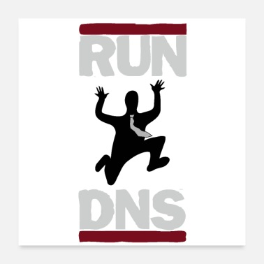 Running Mouse RUN DNS - Poster