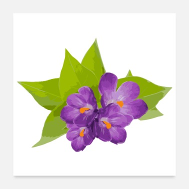 Mother Flower Spring Lilac - Gift Idea - Poster