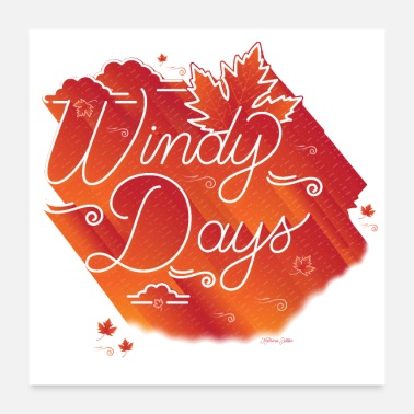 Windy Days - Poster