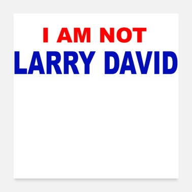 Seinfeld I AM NOT LARRY DAVID - Poster