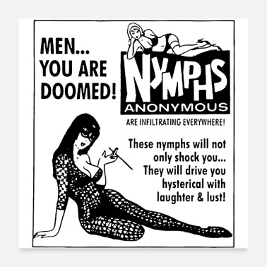 Anonymous NYMPHS ANONYMOUS - Poster
