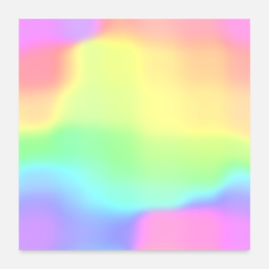 Rainbow Magical Ombre Rainbow! - Poster