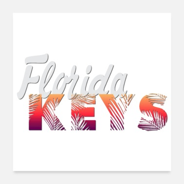 Florida KEYS T-shirt - Poster