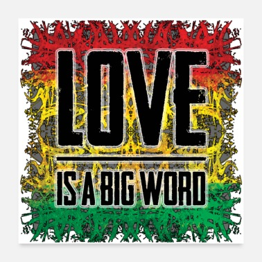 Reggaeton love is a big word - Poster