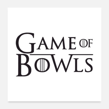 Bowling Ball Games Of Bowls Gift - Poster