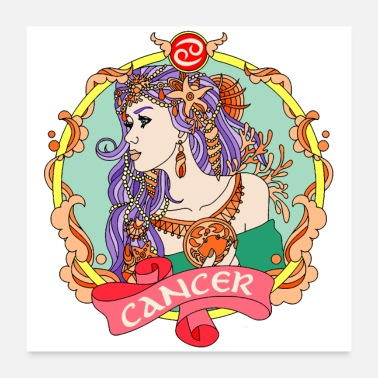 Astrology CANCER - Poster