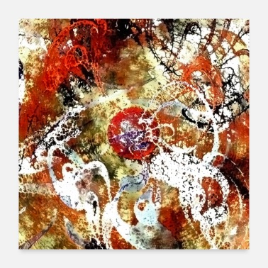 Paint Abstract painting - Poster