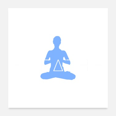 Logo yoga breath - Poster