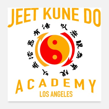Tae Kwon Do Jeet Kune Do Gift Stuff - Poster