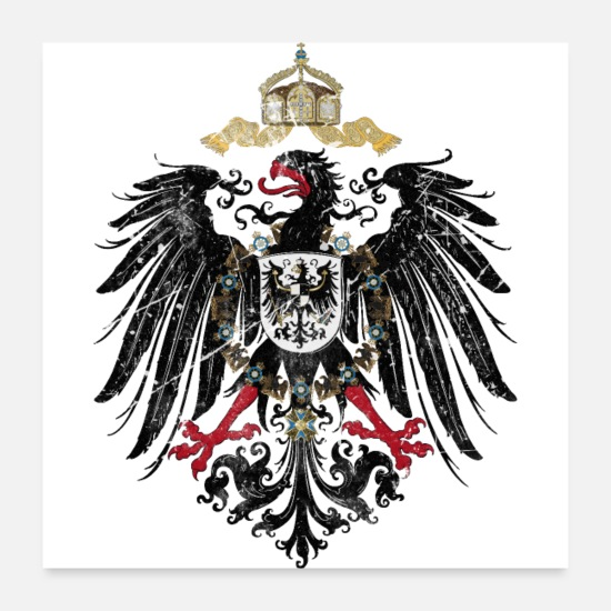 Flag Of Germany Posters - German Empire Flag - Posters white