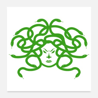 War Mythology Medusa Monster Greek God - Gift Idea - Poster