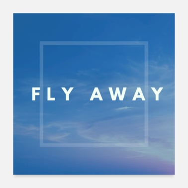 Airforce Fly away - Poster