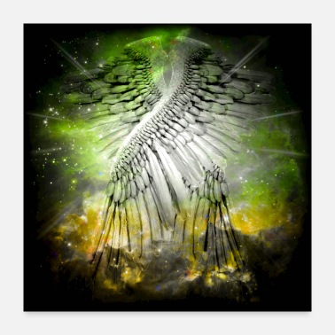 Wing Angel Wings - Poster