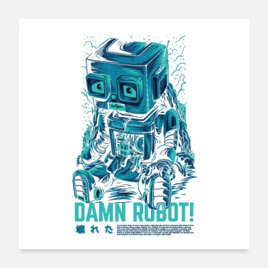 Badger Bad Robot! - Poster