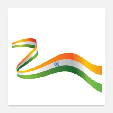 Indian Independence Day T-shirt - Poster