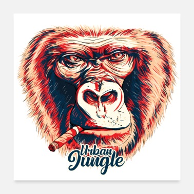 Mc gorilla urban jungle - Poster