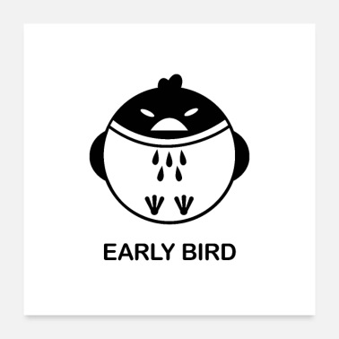 Birds Lovers Early Bird - Poster