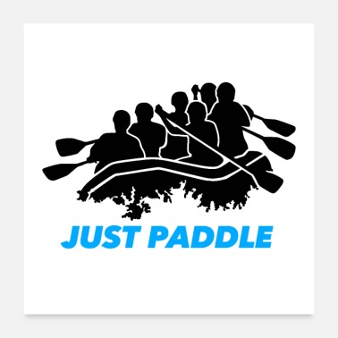 Rafting Just Paddle - Poster