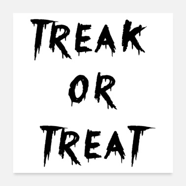 Programming treak or treat - Poster