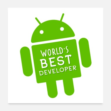 Geek World's Best Developer - Poster