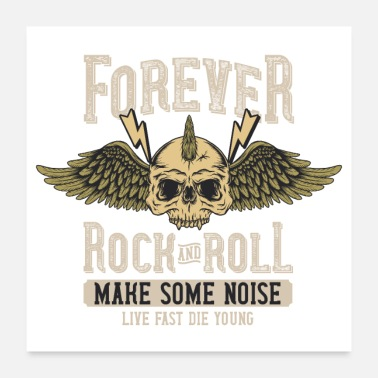 Chant Forever Rock and Roll Make Some Noise Festival - Poster