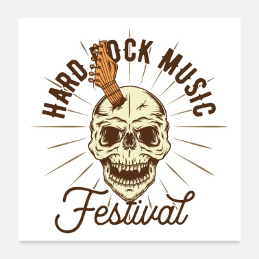 Hard Rock Hard Rock Music Festival Open Air Rock and Roll - Poster
