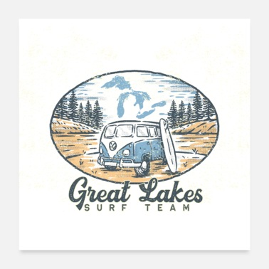 Great Lakes Surf Team - Poster