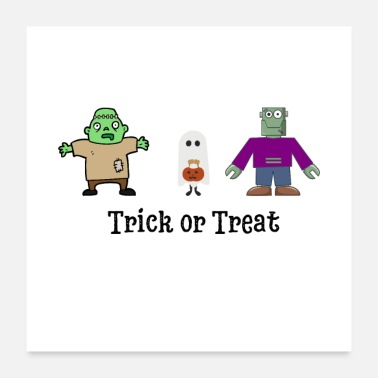 Trick Trick or Treat - Poster